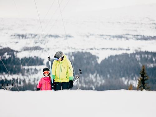 Edsåsdalen har flera snälla backar att utforska.