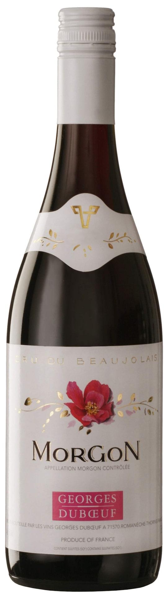 RöttMorgon 2012 (5106)Beaujolais, 89 krMjukt med toner av röda bär. Frisk fruktsyra och lite örtiga drag i smaken. Trevligt i anspråkslös stil. Serveras lite svalt till stekt fisk.