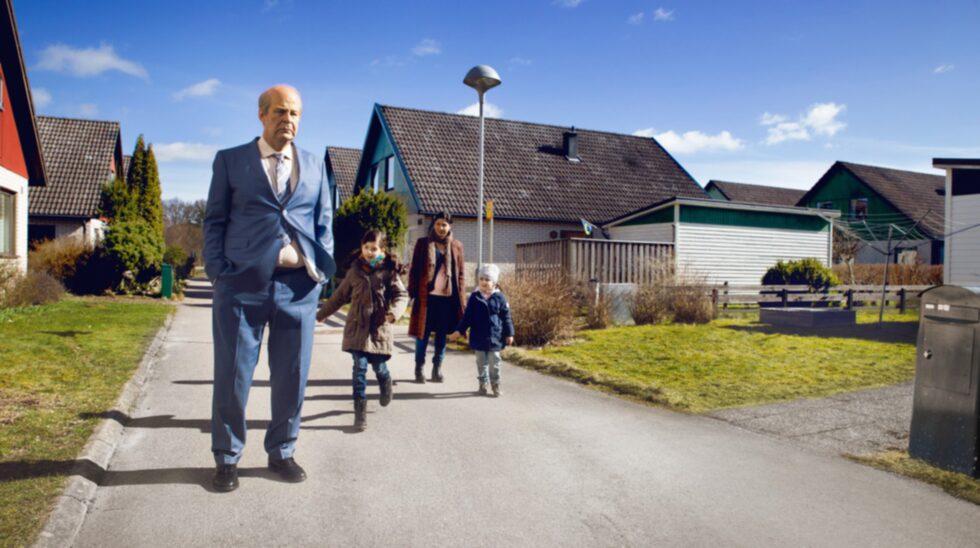 """<p>På Torget i Hjo visas """"En man som heter Ove"""".</p>"""