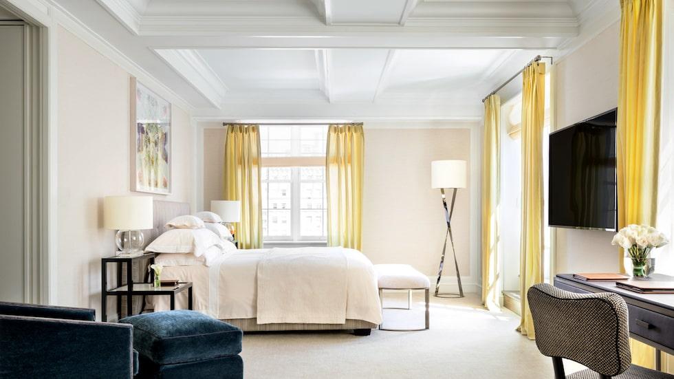 Du får betala 675 000 per natt om du vill sova i penthouse-sviten på The Mark Hotel i New York.