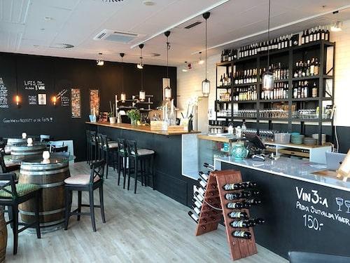 På Swedish Wine Center i Malmö är det svenska vinet i fokus.