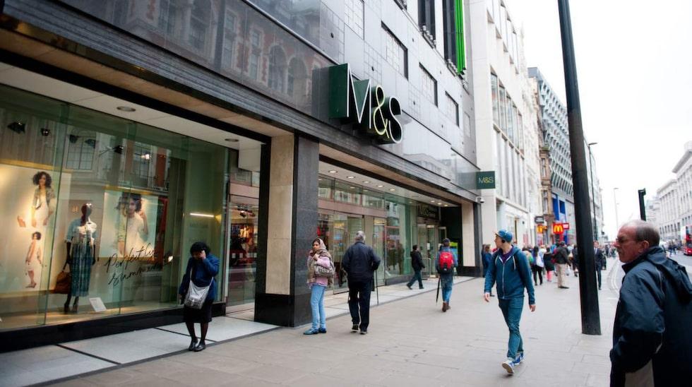 Marks & Spencer är folkligare än de andra varuhusen.
