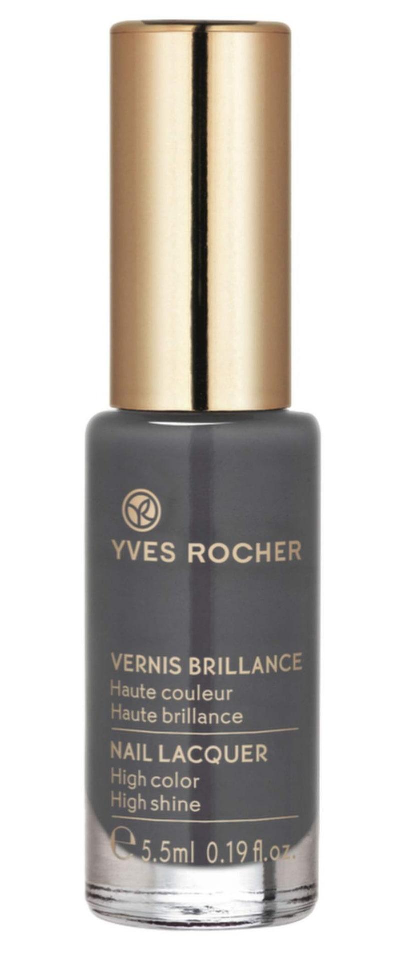 """Supertrendigt med grå naglar!Rökgrå nyans """"Gris intense"""" från Yves Rocher, 75 kronor."""