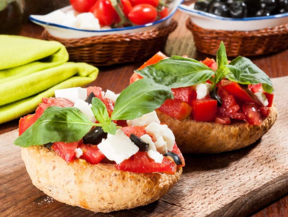 Mat och dryck spelar en central roll i Apulien.