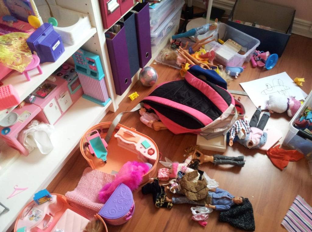Se upp för prylfällan! Det är lätt att samla på sig massor av prylar. Tänk efter vad du egentligen behöver.