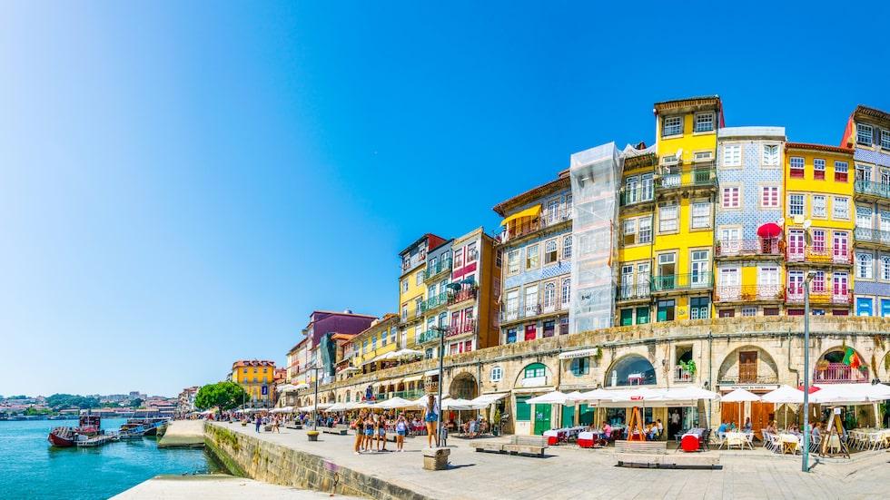 Även hamnstaden Porto i Portugal är prisvärt.