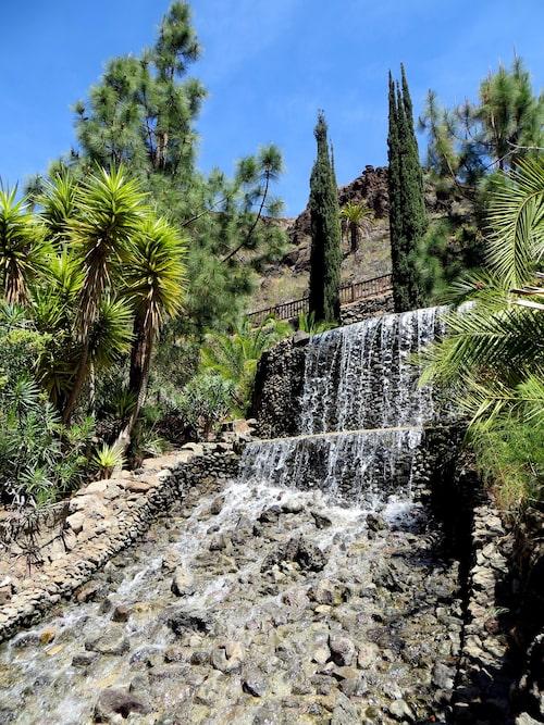 Parken ligger i den tropiskt gröna Chamoriscan-ravinen.