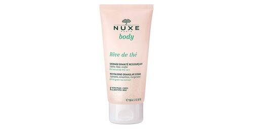 Kroppsskrubb med extrakt från grönt te, Nuxe Rêve de thé.