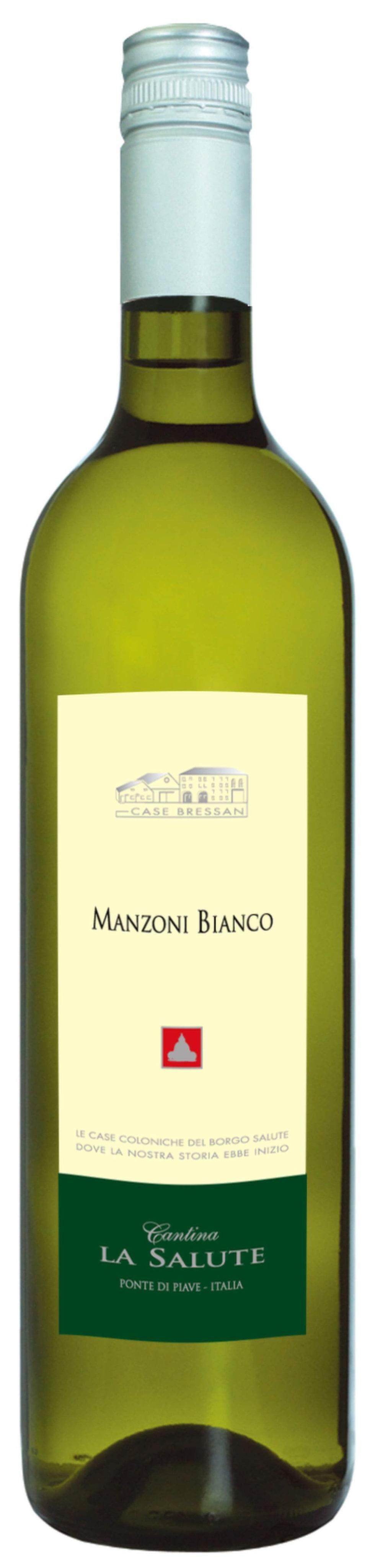 """Vitt<br><strong>Manzoni Bianco 2013</strong><br>(2400) Italien, 81 kronor<br>Druvigt med drag av citruspastiller i lätt örtig stil. Syrlig eftersmak. Förslagsvis till pasta med krämig tonfisksås.<br><exp:icon type=""""wasp""""></exp:icon><exp:icon type=""""wasp""""></exp:icon><exp:icon type=""""wasp""""></exp:icon>"""