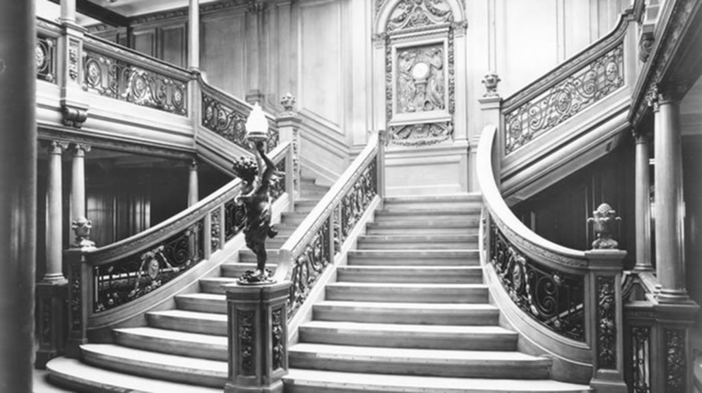 Så här såg den ut på Titanic.
