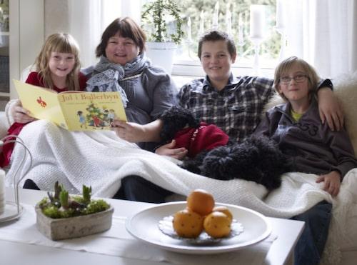 Familjen Torstensson.