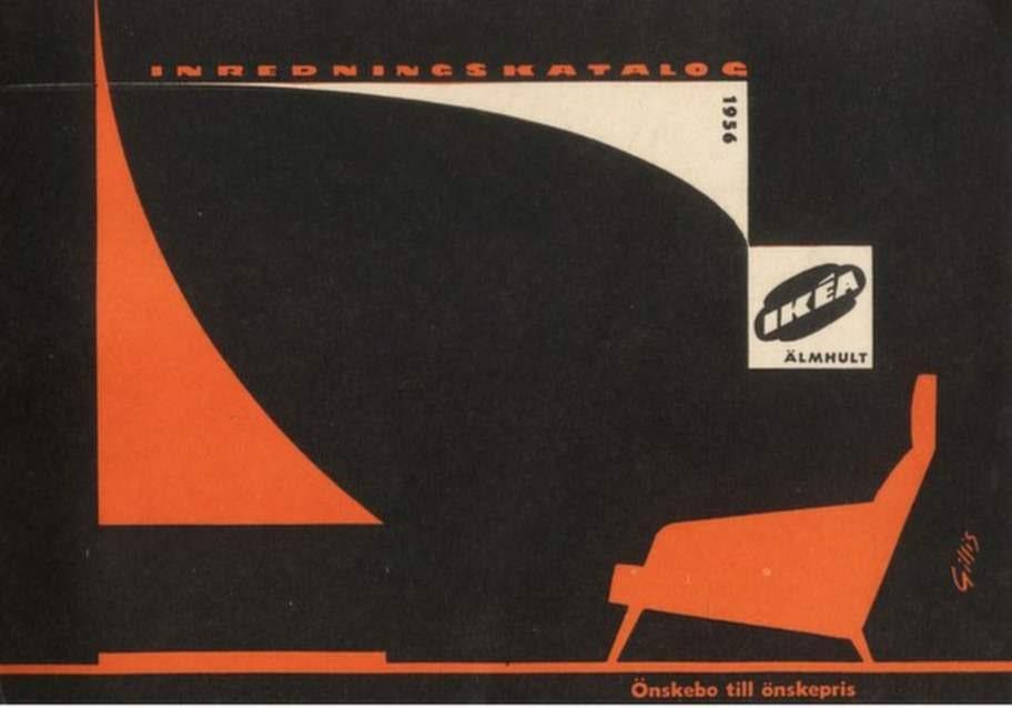 1956. Nu snackar vi 50-tals-stil både på fåtöljen och omslaget.