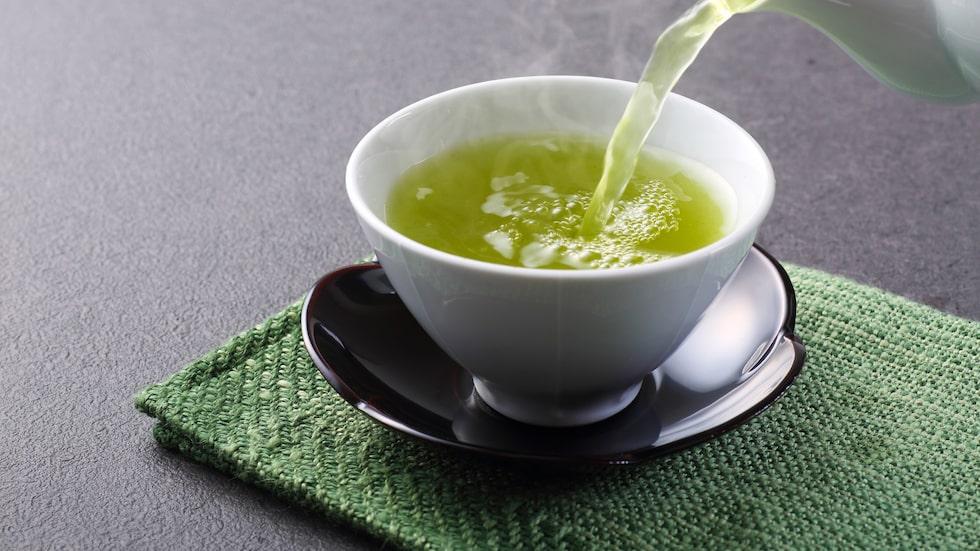 """""""Antioxidanterna polyfenoler som finns i grönt te har visat sig vara bra för immunförsvar och hjärtat."""""""