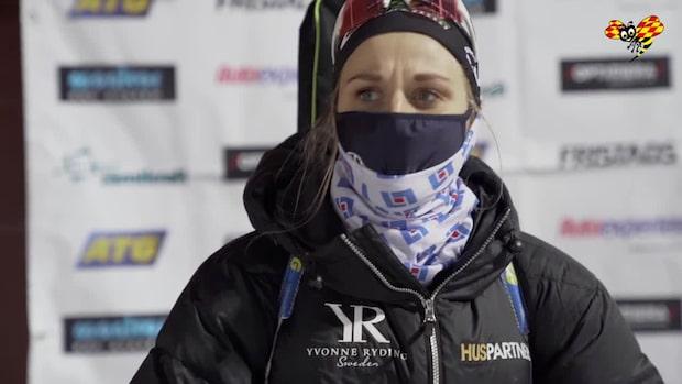 """Stina Nilsson: """"Det var ganska kämpigt för mig idag"""""""