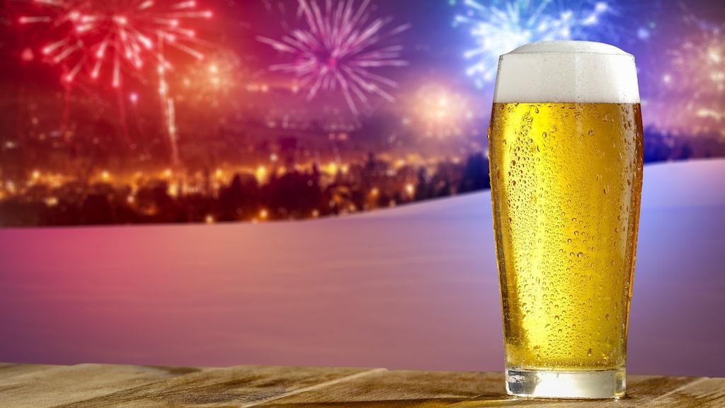 Testa några spännande öl-sorter på nyårsafton.