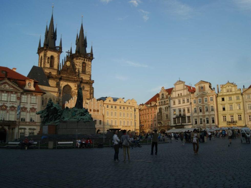 Prags bedövande skönhet har altid lockat besökare.