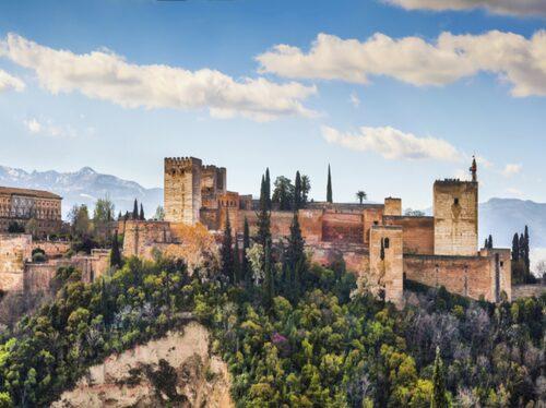 Borgen Alhambra i Granada.