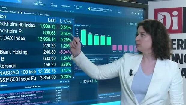 Marknadskoll: Investor stiger på rapporten