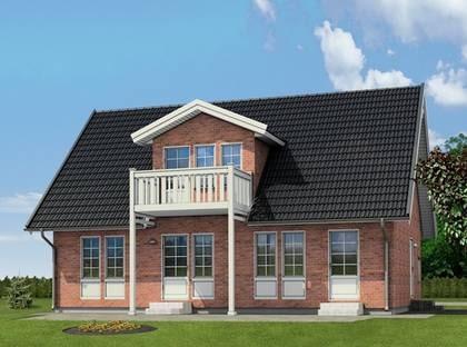 SKILLINGE - Ett klassiskt hus med fina proportioner. TYP: 1,5-planshus. Fem rum och kök på 142 kvadratmeter. PRIS: 2 034 625 kronor. 14 328 kronor kvadratmetern. HUSFÖRETAG: Modulenthus www.modulenthus.se