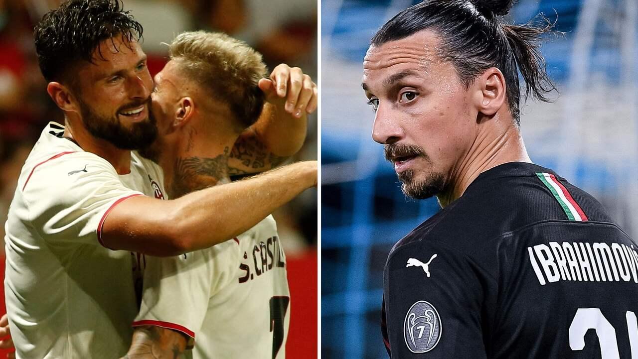 Milans plan för Zlatan – efter Girouds succé