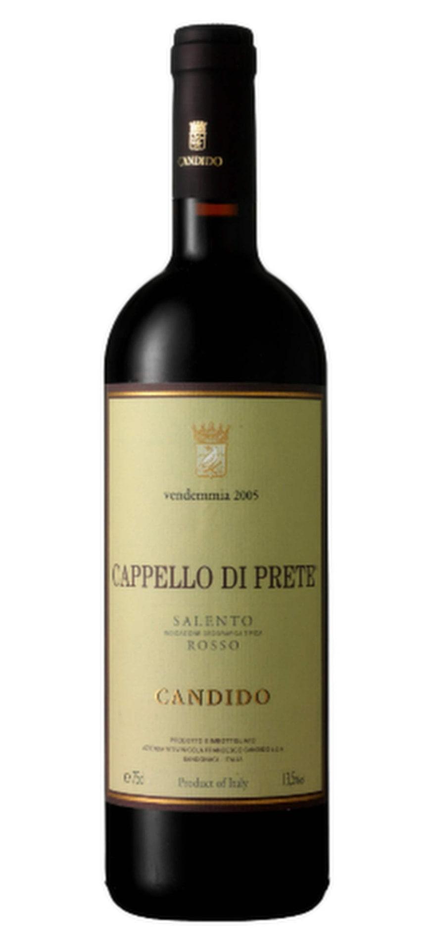 RöttCappello di Prete 2009(2727) Apulien, 81 krSkön robust karaktär med utvecklad smak med lite nötig, bränd ton och torkad frukt. Passar bra till en bolognese.