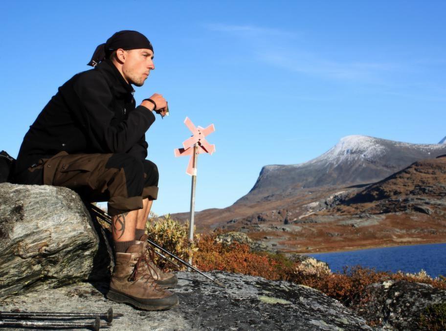 Abisko är startpunkt för den klassiska vandringsleden Kungsleden.