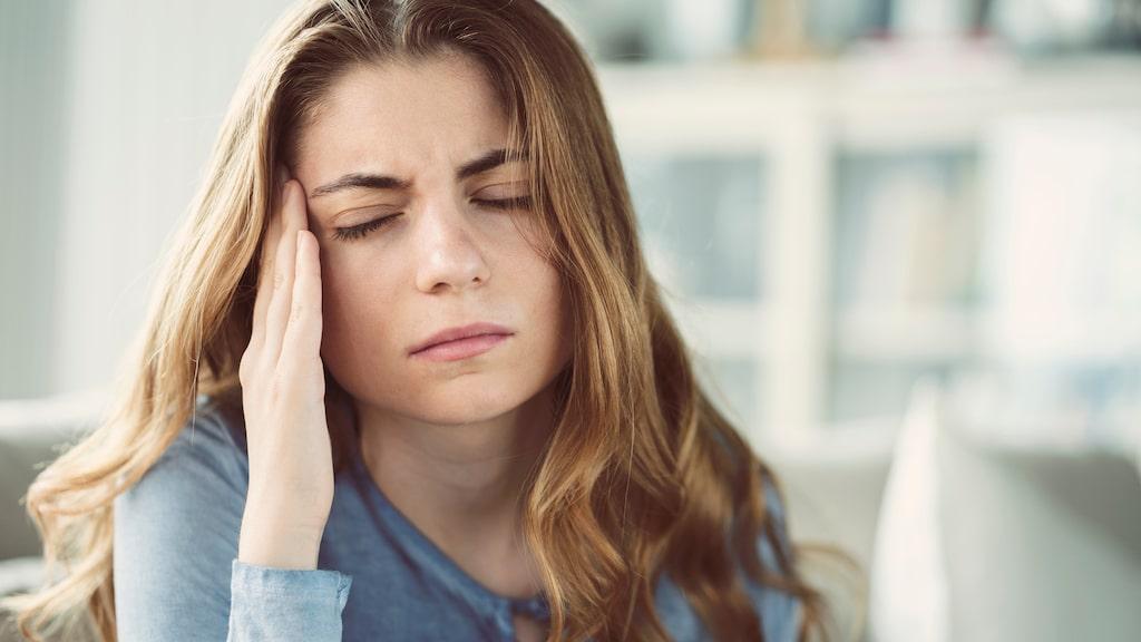 Kroppen varnar oss när vi stressar för mycket.