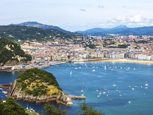 Till San Sebastian åker du för att det är så vackert och för matens skull.