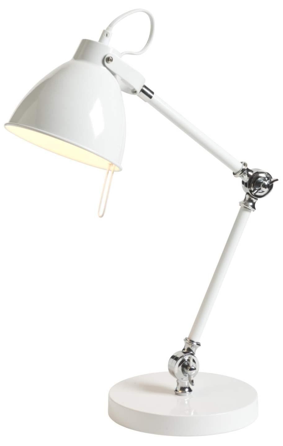7 Bordslampa, Oxford, i metall, 199 kronor, Rusta.