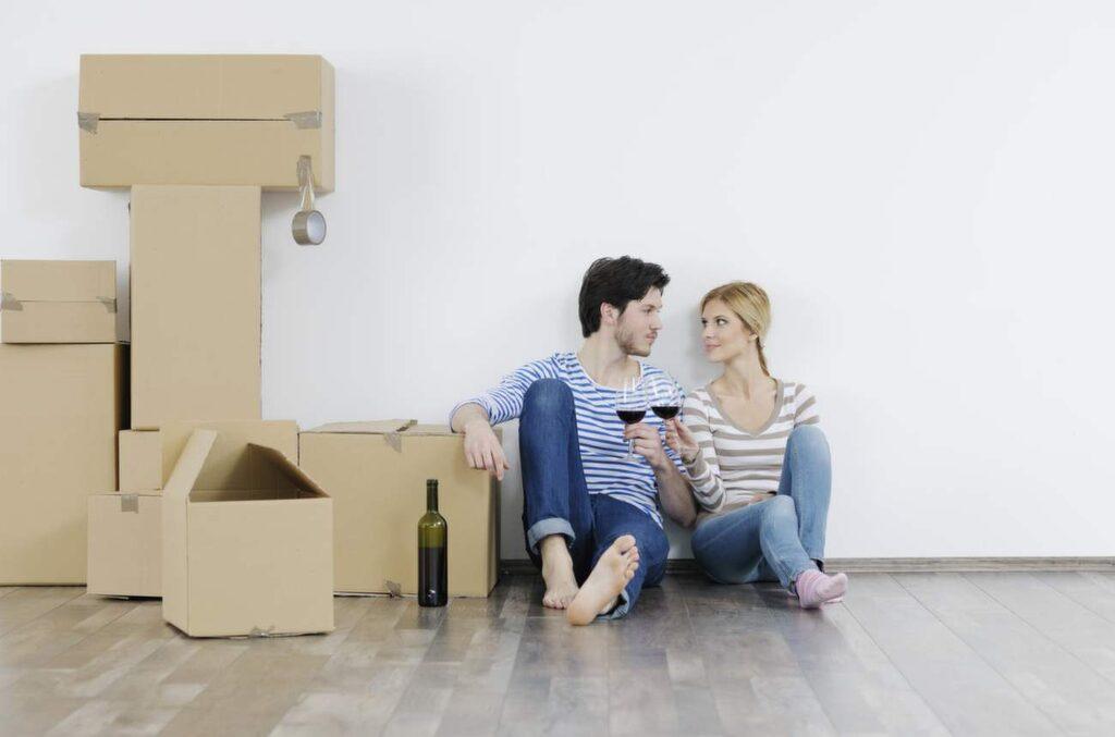 Att få en nystart i tillvaron är det vi tycker bäst om med att flytta.