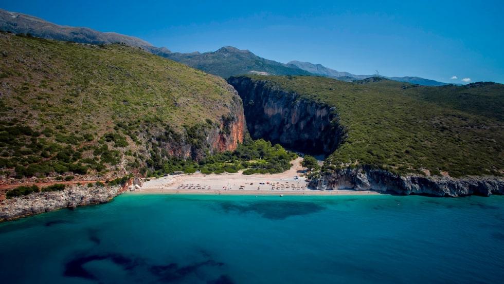 gjipe beach - albania