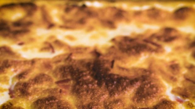 Klassiskt recept på enkel ugnspannkaka