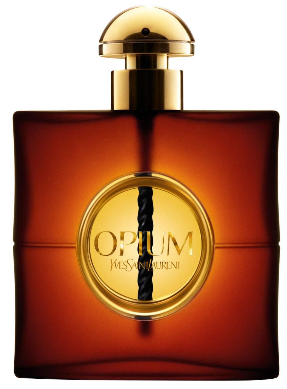 Opium från Yves Saint Laurent, rek. pris EdP 30 ml/665 kr, 50 ml/ 845 kr, EdT 30 ml/ 565 kr, 50 ml/ 765 kr