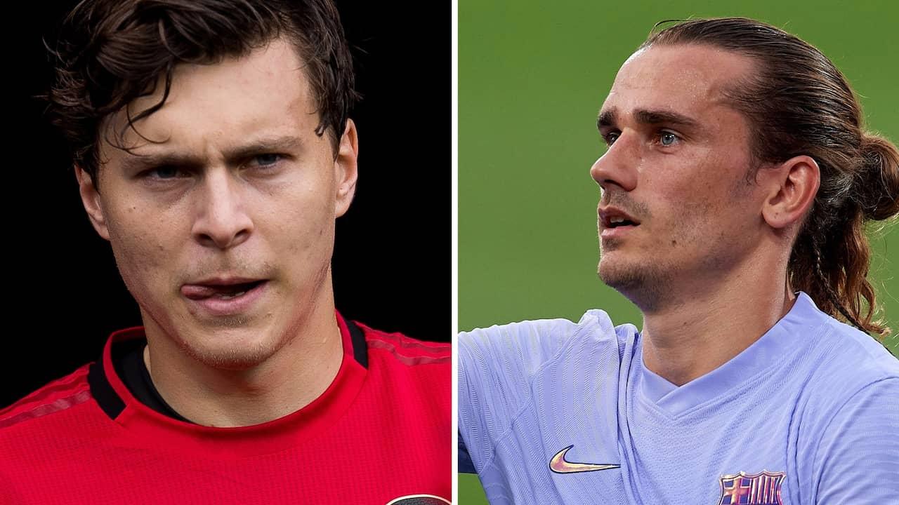 Chocken: Barça vill byta Griezmann mot Lindelöf