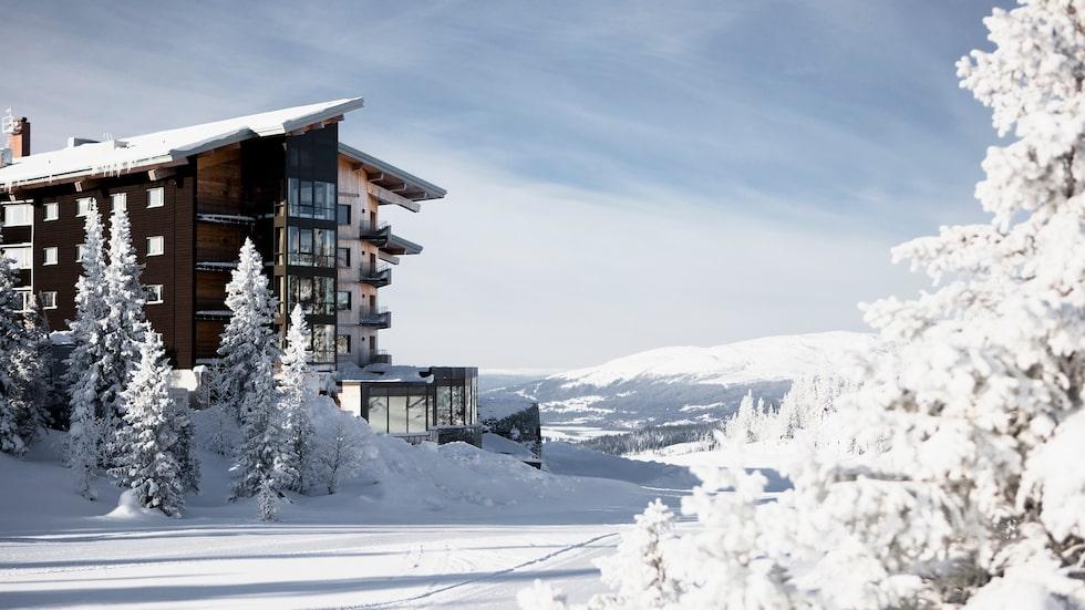 Fjällen med extra lyx på Copperhill Mountain Lodge.