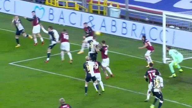 Albin Ekdal målskytt mot Milan