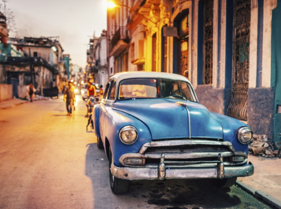 Havanna på Kuba passar i februari.