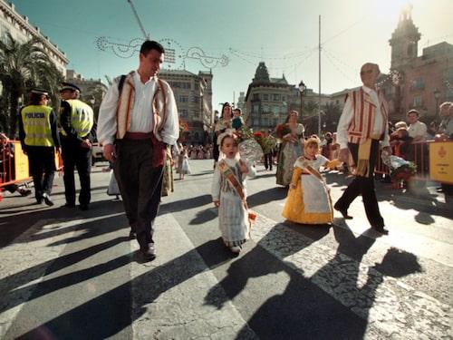 Folkfest i Valencia.