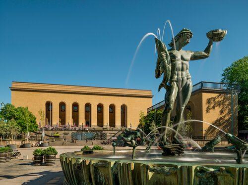 Göteborgs konstmuseum har en konstsamling av internationell klass.