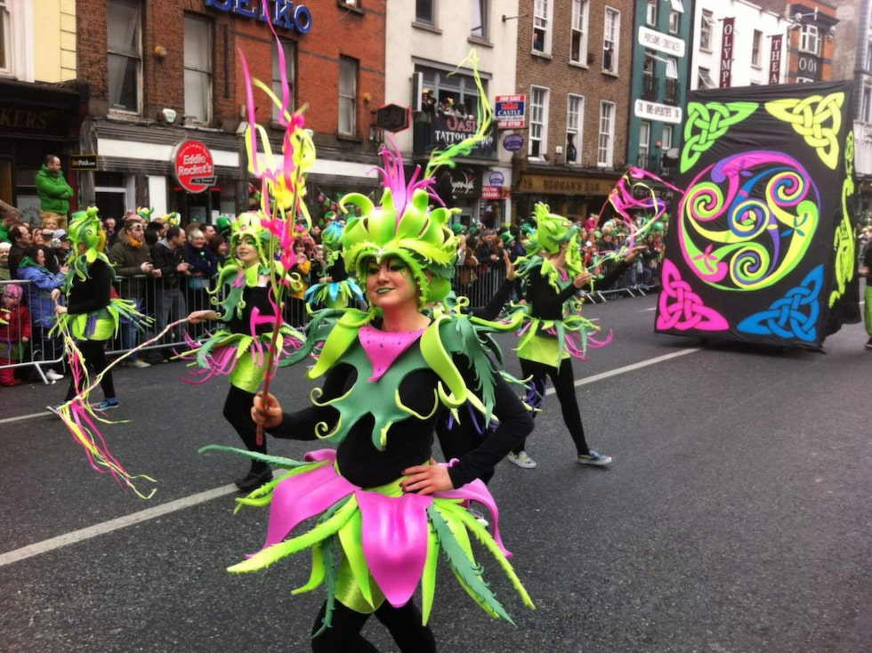 Det är landets nationaldag, döpt efter Irlands skyddshelgon Sankt Patrick som införde kristendomen på ön på 400-talet.