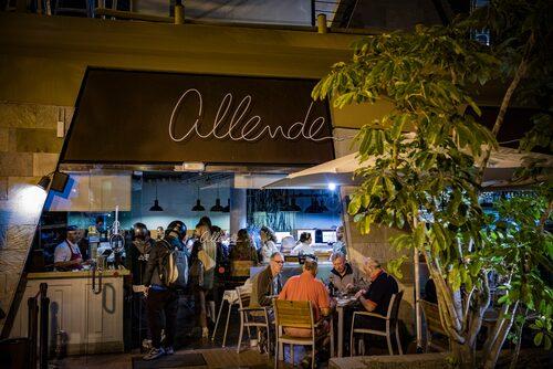 Prisvärt toppkök på Allende.