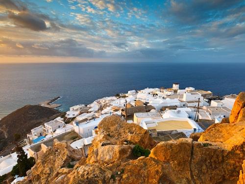 Grekiska ön Anafi har bara 300 invånare.