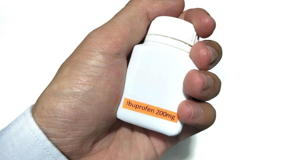 En ny dansk studie visar att Ibuprofen ökar risken för hjärtstillestånd med 31 procent.