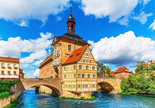 Bamberg har en av Europas bäst bevarade gamla stadskärnor.