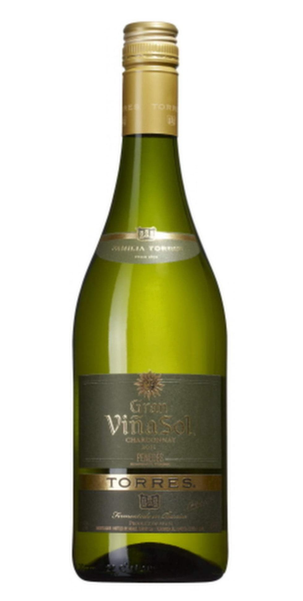 """Vitt<br><strong>Torres Gran Viñ Sol Chardonnay 2013</strong><br>(2459) Spanien, 78 kronor<br>Generöst fruktigt med drag av mogna äpplen, vanilj och krydda. Frisk fruktsyra. Till en mustig fiskgryta med saffranscrème<br><exp:icon type=""""wasp""""></exp:icon><exp:icon type=""""wasp""""></exp:icon><exp:icon type=""""wasp""""></exp:icon><exp:icon type=""""wasp""""></exp:icon><exp:icon type=""""wasp""""></exp:icon>"""