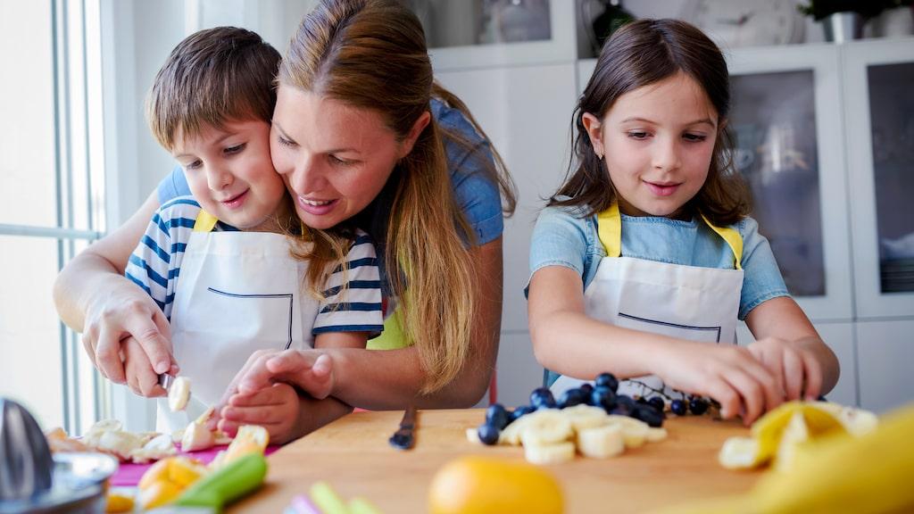 Hur gör man frukt och grönsaker mer intressant?