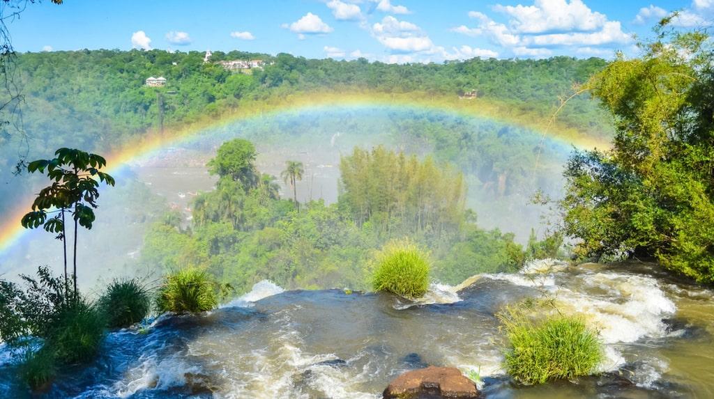 <p>Iguazúfallen, Brasilien. Foto: Shutterstock</p>