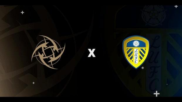 Ninjas in Pyjamas och Leeds United inleder samarbete