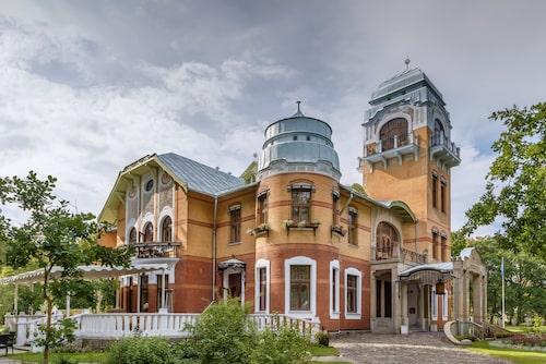 Ikoniska Ammende Villa i Pärnu.