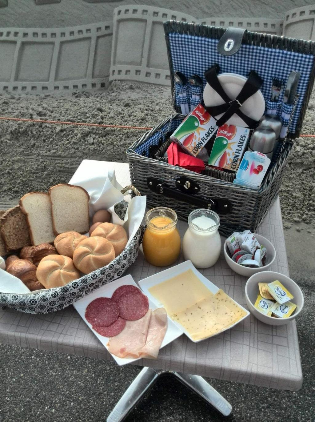 <p>Här kan frukosten lätt bli en sandig historia.<br></p>